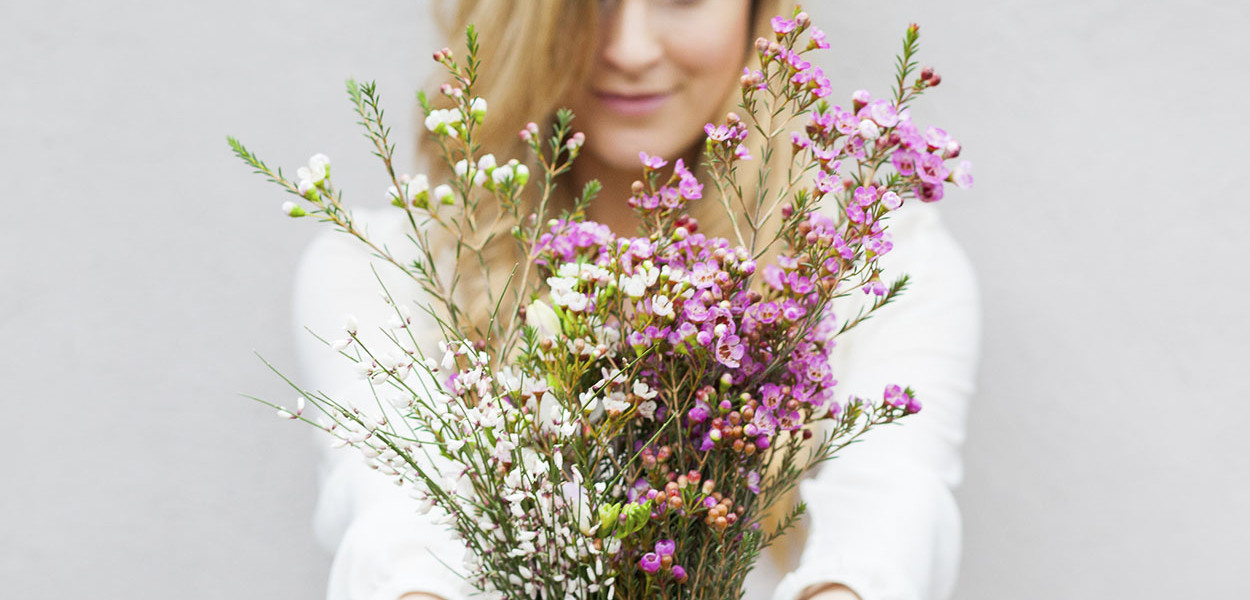 Pink Valentine | frothy flower inspiration from the garden
