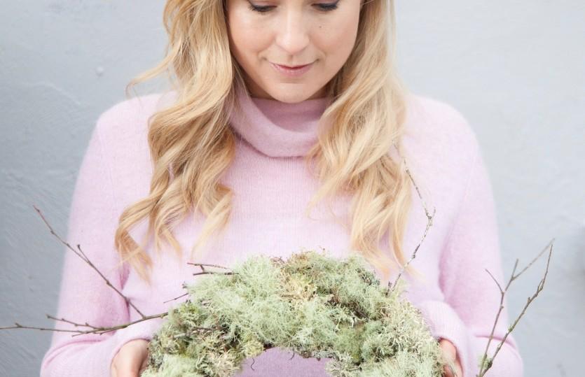 Wonder wreath  | How lichen found its way into my Christmas wreath.